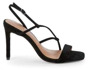 1df25da2b31 Halston Leather Straps Women's Sandals - ShopStyle