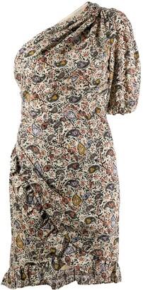 Etoile Isabel Marant Esther one-shoulder mini
