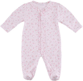 Kissy Kissy Dusty Rose Ruffle Footie Playsuit, Size Newborn-9 Months