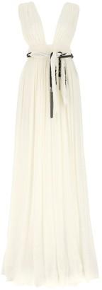 Saint Laurent Maxi Draped Dress