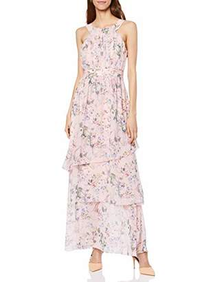 Vila Women's Vinola S/L Maxi Layer Dress/Za Party,(Herstellergröße: 40)