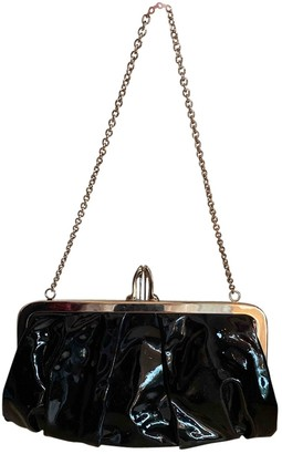Christian Louboutin Black Patent leather Clutch bags