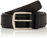 Barneys New York MEN'S CALFSKIN BELT