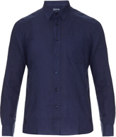 Vilebrequin Long-sleeved linen shirt