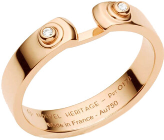 Nouvel Heritage Monday Morning Mood Rose Gold Ring