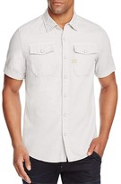 G Star Landoh Solid Regular Fit Snap Front Shirt