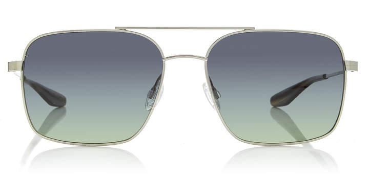 Barton Perreira Volair Aviator-Style Titanium Sunglasses