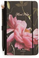 Ted Baker Wild And Wolf X Mini Notebook & Pen - Black