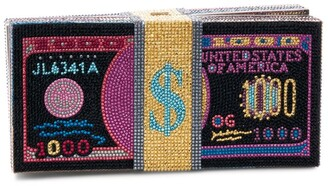 Judith Leiber Stack Of Cash Funny Money Clutch Bag