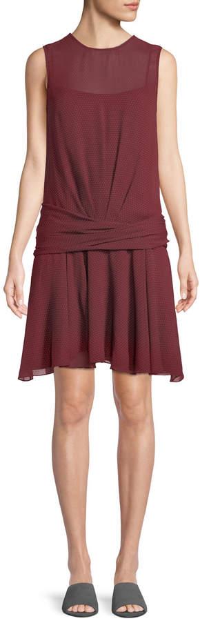 85f5b5015726 Chiffon Drape Dress - ShopStyle