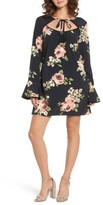 Band of Gypsies Women's Keyhole Floral Dress