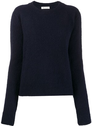 Masscob crew neck fitted jumper