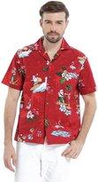 Hawaii Hangover Men's Hawaiian Shirt Aloha Shirt M