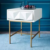 Sculpted Geo Side Table