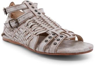 Bed Stu Leather Woven Huarache Sandals - Claire