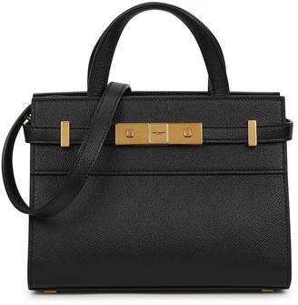 Saint Laurent Manhattan nano leather top handle bag