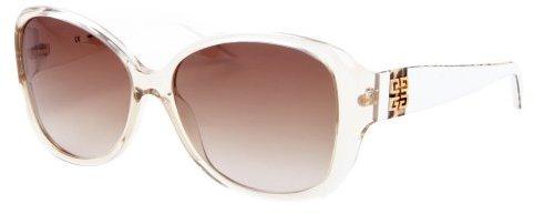 Givenchy white transparent acrylic round frame sunglasses