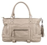 Rebecca Minkoff Buckle Accented Leather Satchel