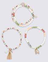 M&S Collection Charming Sparkle Bracelet Sets
