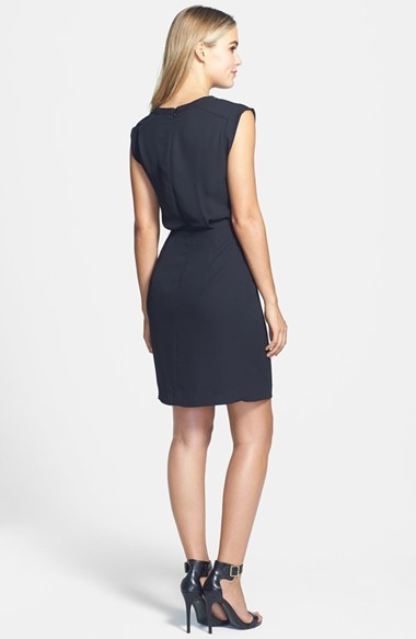 Vince Camuto Laser Cut Dress