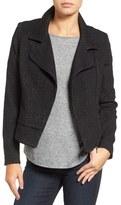Halogen Jacquard Moto Jacket (Regular & Petite)