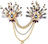 DSQUARED2 Double Pin Embellished Brooch