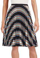 J.W.Anderson Fan-Pleat Striped Skirt