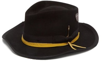 Nick Fouquet Wayward Felt Fedora - Mens - Black