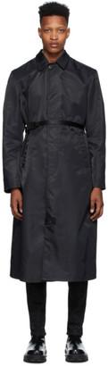 Alyx Black Nylon Trench Coat