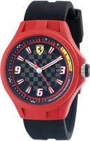 Ferrari Men's 0830006 Pit Crew Analog Display Quartz Watch