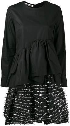 ANAÏS JOURDEN layered fil coupé dress