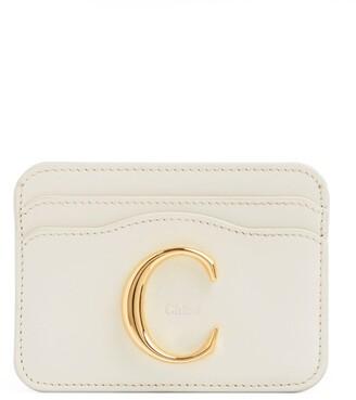 Chloé Leather C Card Holder