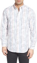 Tommy Bahama Men's Big & Tall Atlas Plaid Sport Shirt