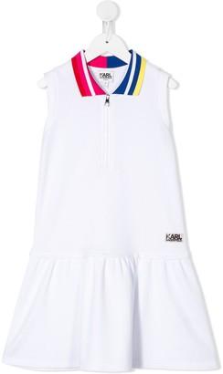Karl Lagerfeld Paris Tennis Style Dress