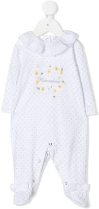 MonnaLisa Embroidered Spotted Pyjamas