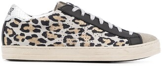P448 John leopard-print low-top sneakers