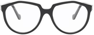 Loewe Black Ovular Glasses