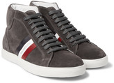 Moncler - La Montecarlo Suede High-top Sneakers