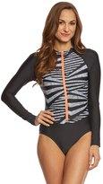 Speedo Women's Long Sleeve One Piece Swimsuit 8148889