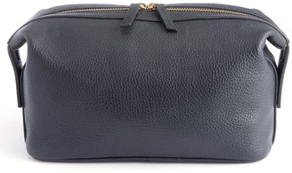 Royce Leather Royce New York Pebbled Leather Toiletry Bag