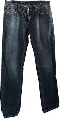 Carhartt Blue Cotton Jeans