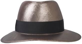 Saint Laurent Wide Brim Trilby Hat