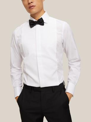 Smyth & Gibson Non Iron Marcella Slim Fit Dress Shirt, White