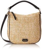 Kate Spade Cobble Hill Straw Small Ella Shoulder Bag