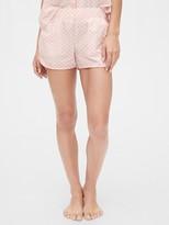 Gap Print Poplin Shorts