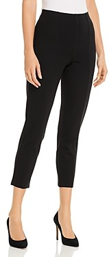 Jag Jeans Lizzy Ponte Seamed-Front Ankle Leggings