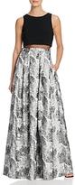Aqua Illusion Waist Gown - 100% Exclusive