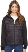 Save the Duck - Hooded Knit/Nylon Casual jacket Women's Coat