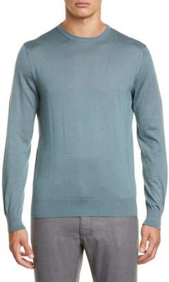 Ermenegildo Zegna Cashmere & Silk Crewneck Sweater