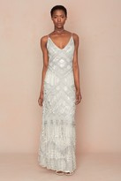 Calypso St. Barth Brusse Hand Embellished Gown